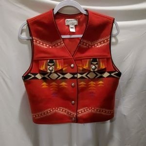 Pendleton Originals Southwestern / Aztec Wool Vest